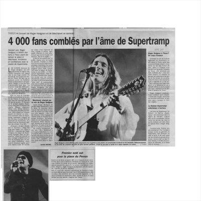 4 000 fans comblés par l'âme de Supertramp