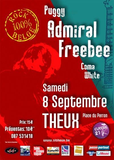 CONCERT : 8 Septembre 2007 : Puggy – Admiral Freebee – Coma White