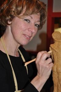 Françoise Stockis, artisan sculptrice