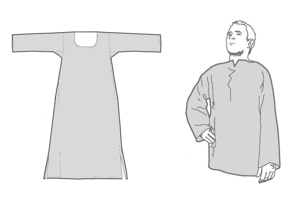 Mon habit médiéval – DIY (*) – Les sous-vêtements